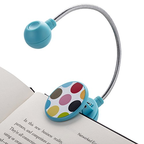 LED Book Light by French Bull - LED Book Light - Book Reading Light - LED Reading Light … (Dot)