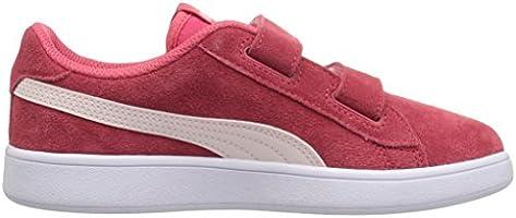 san francisco ea2f6 606b3 PUMA Smash v2 Suede Preschool Sneakers (Paradise Pink/Pearl ...