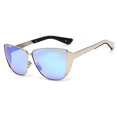 Viajar C5 C7 de Completo Color UV Gafas Marco Gato Color Gu de Lente Sol Protección Conducción de Libre Ojos Peggy Aire metálico al xHv1wWqB