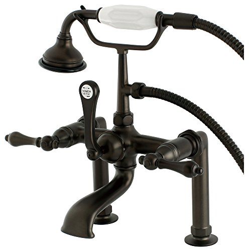 Deck Mount Clawfoot Tub Faucet - 6