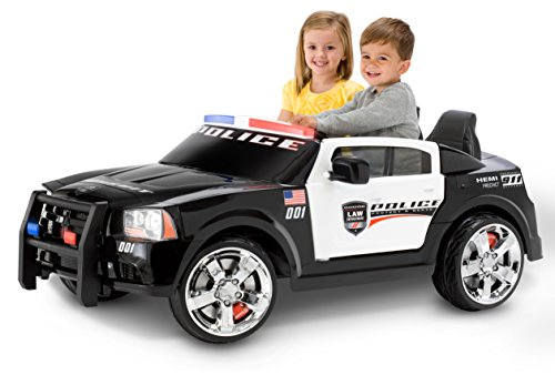 Kid-Trax-Dodge-Charger-Pursuit-12V-Police-Car-KT1111WM-Ride-On
