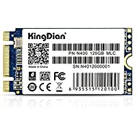 KingDian M.2 NGFF 120GB 128GB M.2 2242 Solid State Drive Disk for Desktop PCs and MacPro (N400 120GB 42mm)