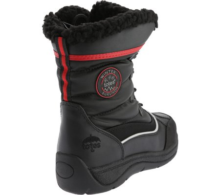 C Lauren Women's D totes US Snow Boot 7 Black Waterproof 6xn1n