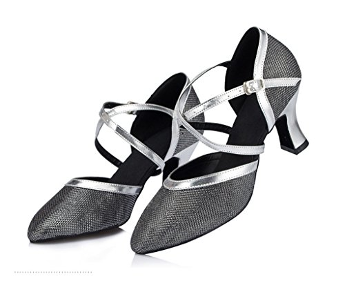 Tanzschuhe Schwarz Damen Tanzschuhe Meijili Meijili Meijili Schwarz Tanzschuhe Schwarz Damen Damen OqPwx7