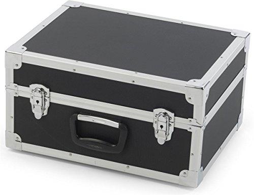 "Displays2go, 40""h Portable Knockdown Magazine Stands, Steel, MDF Construction – Black Finish (TSLHTBKBK) by Displays2go (Image #3)"