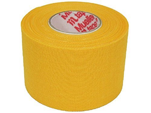 M-Tape Colored Athletic Tape - Yellow - 32 Rolls by IthacaSports