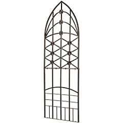 A Classy Addition to Your Patio or Home Decor Let's face it, plants promote a healthy lifestyle. Add a little flair to your indoor or outdoor décor with a stylish trellis. Sturdy, Durable, solid wrought iron scroll work Trellis and Garden Scr...