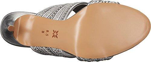Bcbgmaxazria Bcbgeneration Donna Karli Open Toe Occasione Speciale Cinturino Alla Caviglia Sandalo Acciao Metallico Liscio Nappa / Vitello Liscio