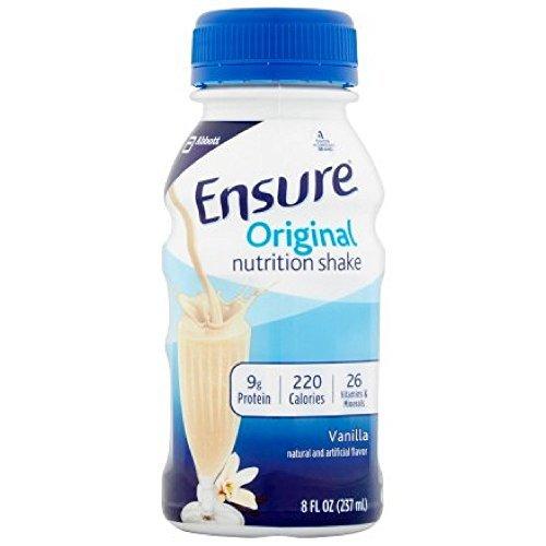 Ensure Liq Van Bottle Size 6/8z Ensure Balanced Nutrition Shake Vanilla 6 Pack, 48 Fl