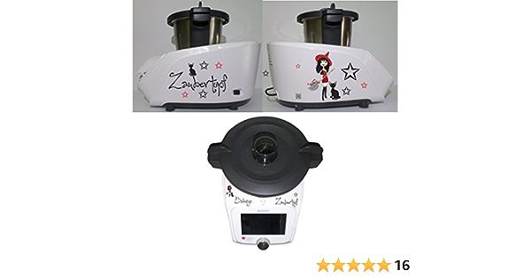 Grafix – Pegatina para Monsieur Cuisine Connected Bruja Rojo mágica – Olla: Amazon.es: Hogar
