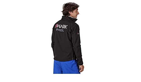 Chaqueta Soft Shell transpirable cortaviento impermeable Shark ...