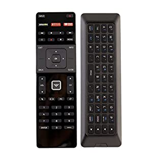 NEW Qwerty Dual Side Remote XRT500 with Backlight fit for 2015 2016 VIZIO Smart app internet tv