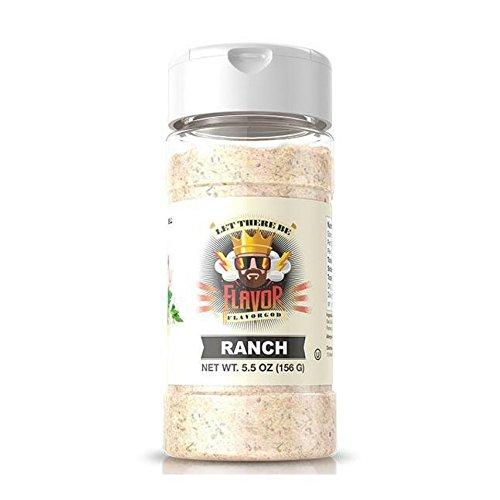 Flavor God #1 Best-Selling, Ranch Seasoning, 1 Bottle, 5 oz