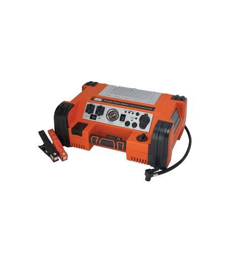BLACK & DECKER PPRH5B Professional Power Station with Air Compressor ()