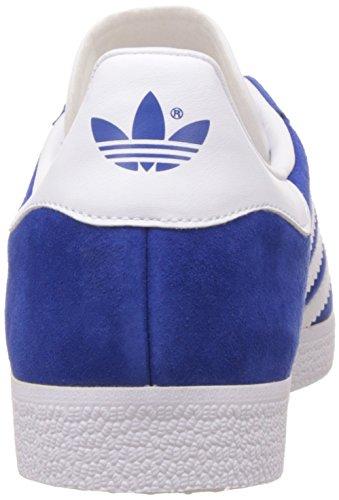 adidas Unisex-Erwachsene Gazelle Low-Top Blau (Collegiate Royal/White/Gold Met.)