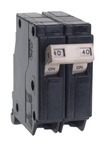 Cutler Hammer CH240 Circuit Breaker, 2-Pole 40-Amp by Connecticut Electric Cutler Hammer 40 Amp