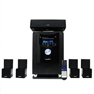 AcoustiMax HD-90 5.1 Home Theatre Surround Sound System 2200 Watts HDMI