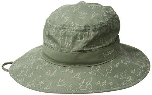 Columbia Cotton Hat - Columbia Men's Pine Mountain Booney, Cypress pop Trees, O/S