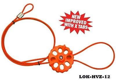 Lockout Tech Cable Lockout System 5/32 x 12ft length, HI-HVZ Orange
