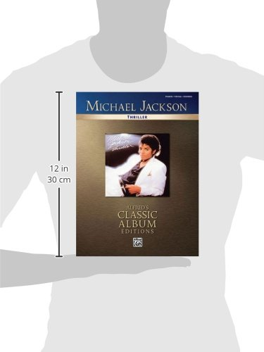 Michael Jackson Thriller Piano/Vocal/Chords (Alfred\'s Classic Album ...
