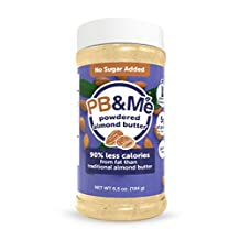 PB&Me Powdered Almond Butter - No Sugar Added, 184 g