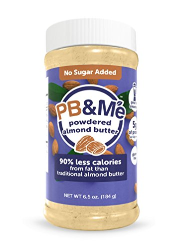 PB&Me Powdered Almond Butter, Keto Snack, Gluten Free, Plant Protein, No Sugar Added, 6.5 Ounce