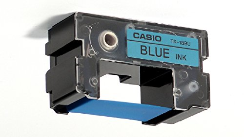 Casio Blue Thermal Ink Ribbon Cartridge for Casio Disc Title Printer CW50 CW75 CW100