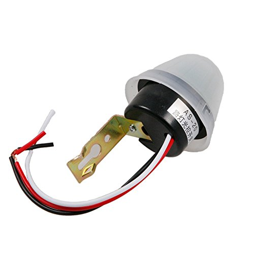 Driak AC/DC12V AS-20 Waterproof Auto On Off Light Switch Photo Sensitive Control Sensor for Streetlight Gardenlight