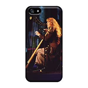 Iphone 5/5s Cases Covers - Slim Fit Protector Shock Absorbent Cases (loreena Mckennitt)