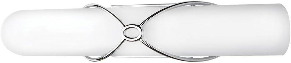 Home Decorators Collection 22830 75-Watt Equivalent Chrome Integrated LED Vanity Light