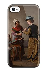 [ngFewQf6328dAywu]premium Phone Case For Iphone 4/4s/ Painting Tpu Case Cover