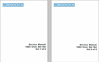 Amazon.com: bishko automotive literature 1993 Honda Civic ... on 94 civic engine diagram, 98 civic engine diagram, 03 civic engine diagram, 97 civic engine diagram, 99 civic engine diagram, 93 grand am engine diagram, 93 civic radio fuse, 93 civic headlight fuse, 93 crown vic engine diagram,