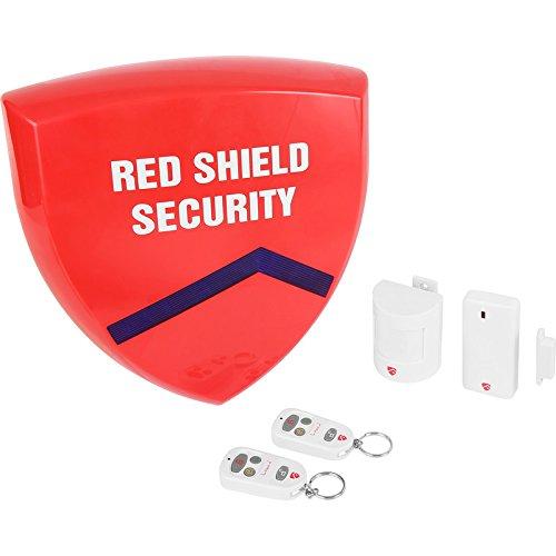Rojo Shield estándar inalámbrico sistema de alarma: Amazon ...