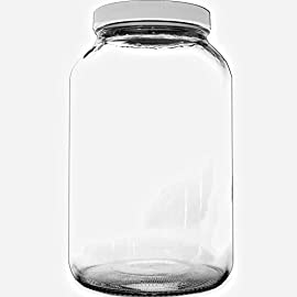 1 Gallon Glass Jar - Kombucha 61 1 Gallon Clear Glass Jar Great for Kombucha
