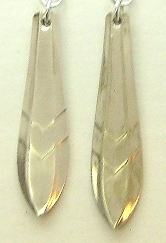 Silverware Earrings Loxley Pattern Silverplate