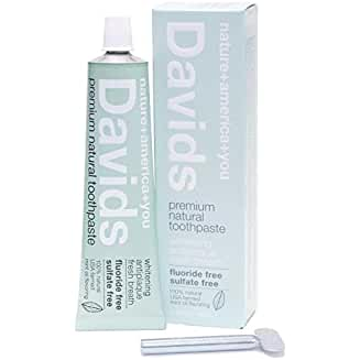 David's Natural Toothpaste (the best of all of the Natural Teeth Whitening Products)