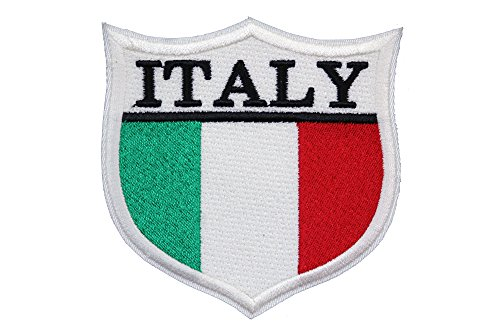 World Flags Embroidered Patch Shield (3 x 3) European Edition. Custom Flags of Countries in Europe. 100% Made in USA (Italy)