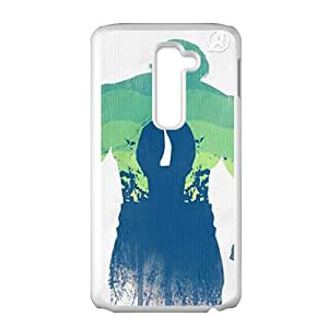 SANYISAN Creative Man Pattern Bestselling Hot Seller High Quality Case Cove For LG G2
