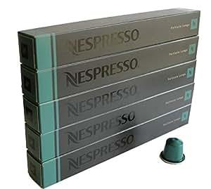 Nespresso OriginalLine: Fortissio Lungo, 50 Count - ''NOT compatible with Vertuoline''