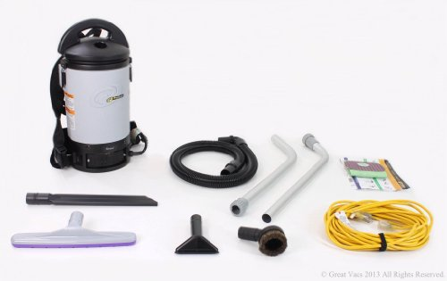 Demo Model ProTeam Sierra Commercial Backpack Vacuum Cleaner with 1 1/2 tools and restaurant kit