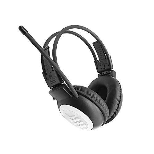Portable Personal FM Radio Headphones Ear Muffs with Best Reception