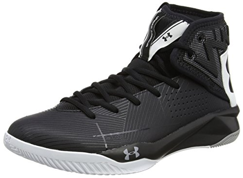 Under Armour Men's Rocket 2, Black/White/Black, 10 D(M) US