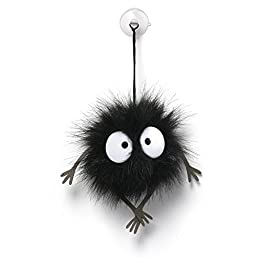 Soot Sprite Plush | 1.5 Inches | Spirited Away Plushies 1