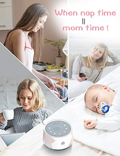 White Noise Machine - Dreamegg D1 Pro Sound Machine, 3-in-1 Baby Soother Sound Machine Night Light, 29 HiFi Sounds, Upgraded Light, Noise Machine for Sleeping & Relaxation for Baby Kids Adults Gift