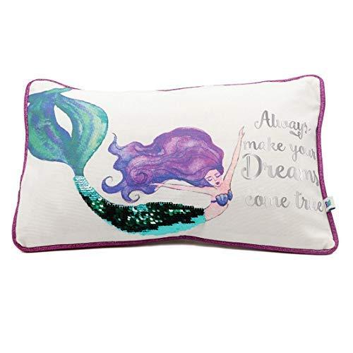 DEI Cotton Lumbar Accent Pillow [並行輸入品] B07RCF5XR5
