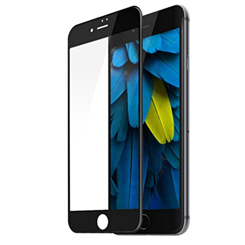 Price comparison product image iPhone 7 / 7 Plus Protector, Tenworld 9H All Inclusive Tempered Glass Screen Protector Flim for iPhone 7 Plus / iPhone 7 (For iPhone 7, Black)