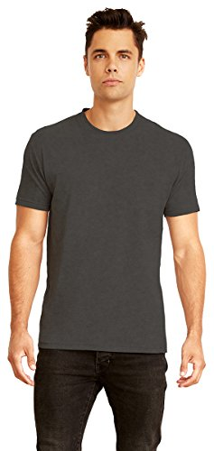Crew Mens Clothing - Next Level 6410 Men's Sueded Crew Heather Charcoal L