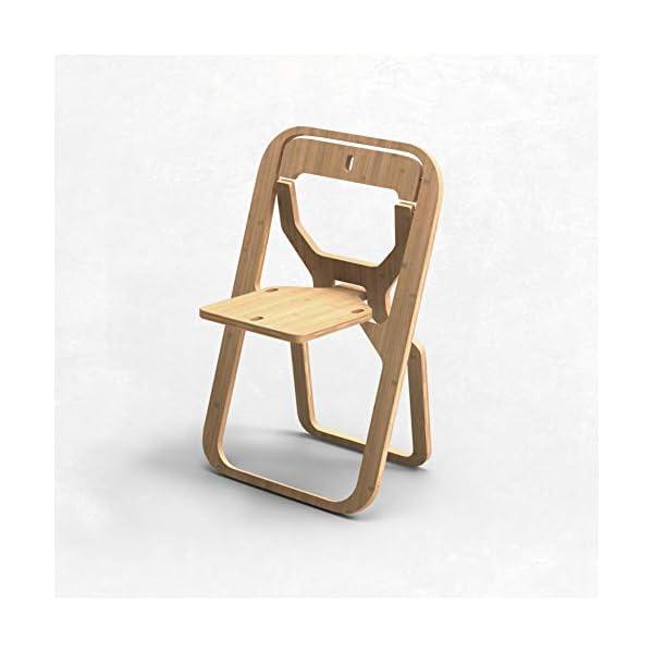INFINE Design Objet Chaise Design Pliable Extra-Plate par Christian Desile