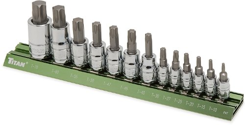 Titan Tools 16122 Star Bit Socket Set - 13 Piece ()