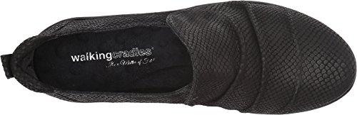 for sale online store eastbay sale online Walking Cradles Women's Hanson Loafer Black Matte Snake Print Cheapest online TDvY92